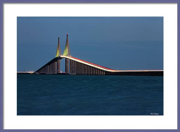 Sunshine Skyway Bridge by Fran Gallogly