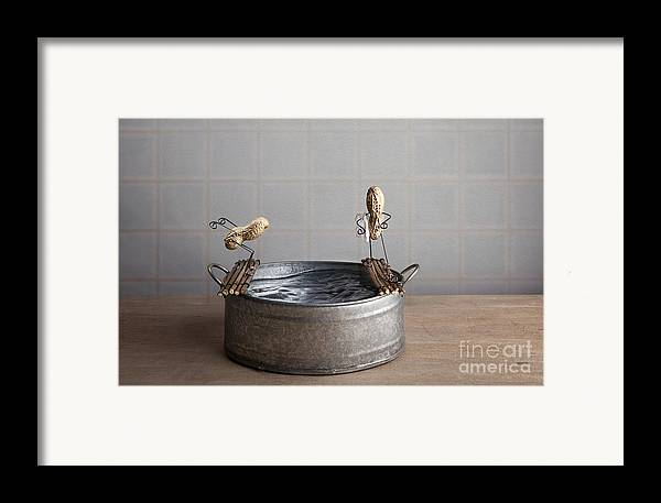 Pool Framed Print featuring the photograph Swimming Pool by Nailia Schwarz