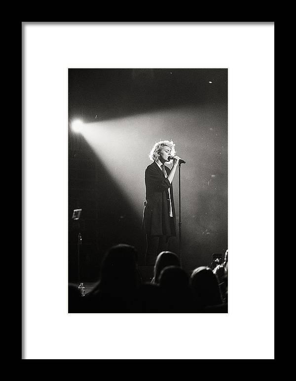 Taya Smith Framed Print featuring the photograph Taya Smith by Misael Nevarez