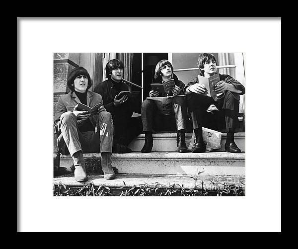 1965 Framed Print featuring the photograph The Beatles, 1965 by Granger
