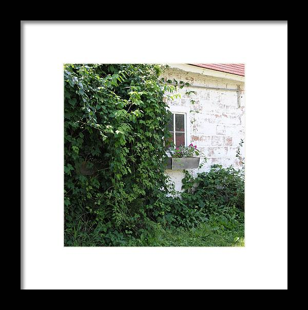 Framed Print featuring the photograph The Cottage by Janis Beauchamp