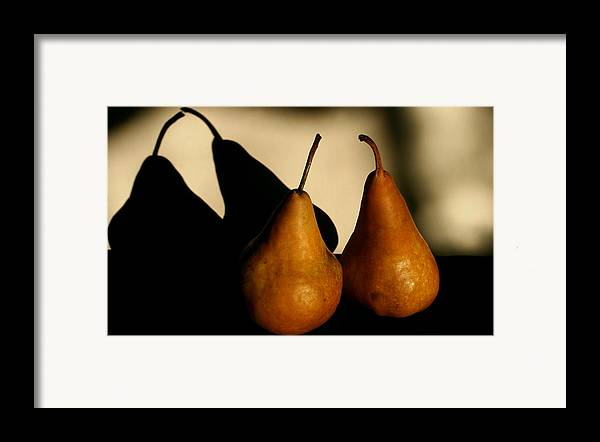 Still Life Framed Print featuring the photograph The Kiss by Steve Augustin