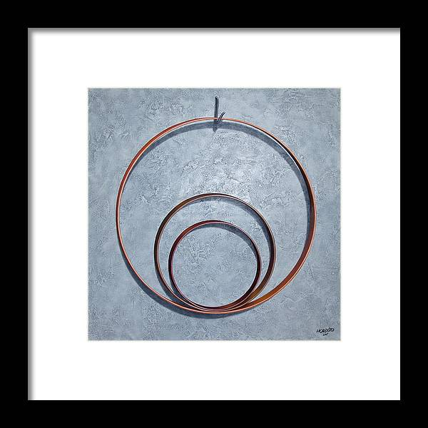 Hoop Framed Print featuring the painting The Legacy by Horacio Cardozo