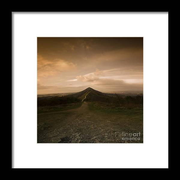 Hill Framed Print featuring the photograph The Malvern Hills by Angel Ciesniarska