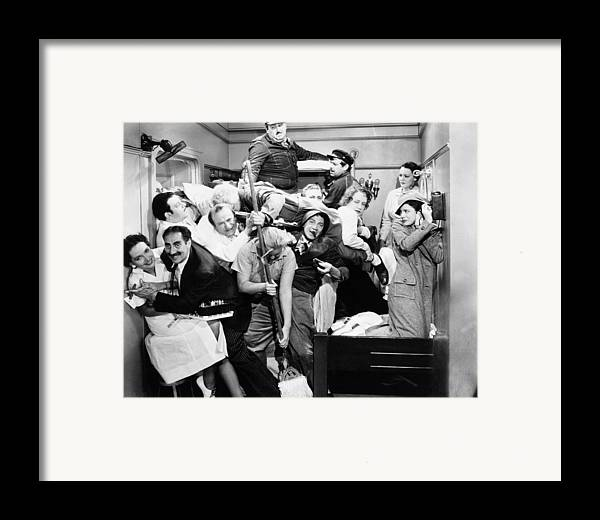 1935 Framed Print featuring the photograph The Marx Brothers, 1935 by Granger