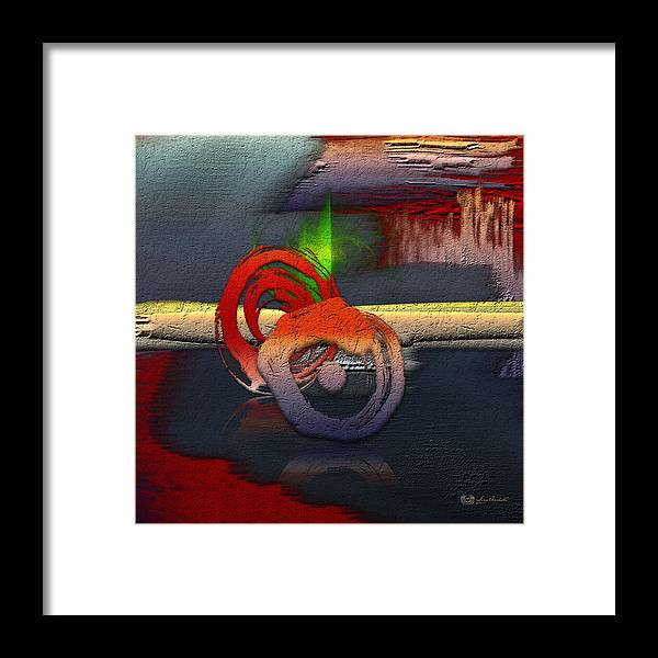 Abstracts Plus By Serge Averbukh Framed Print featuring the photograph The Night is Young by Serge Averbukh