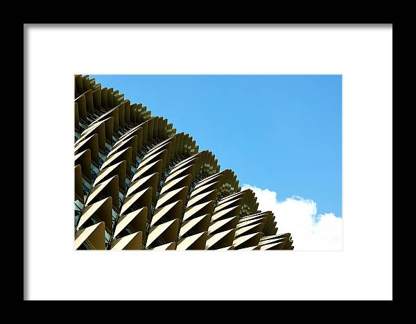 Esplanade Framed Print featuring the photograph The Roof by Yew Kwang
