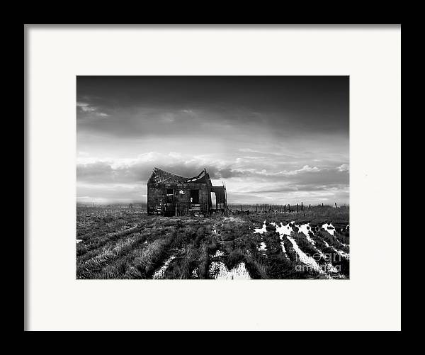 Architecture Framed Print featuring the photograph The Shack by Dana DiPasquale