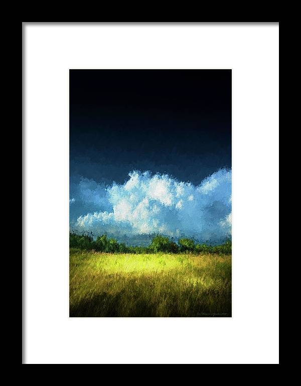 Apollo Beach Framed Print featuring the photograph The Storm 1 by Marvin Spates