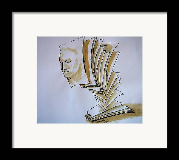 Theory & Practice Framed Print featuring the digital art Theory by Paulo Zerbato