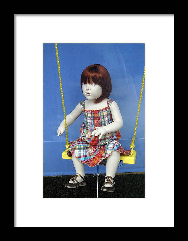 Photographer Framed Print featuring the photograph Tia by Jez C Self