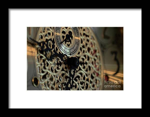 Time Framed Print featuring the photograph Tick Tock by Dale Powell