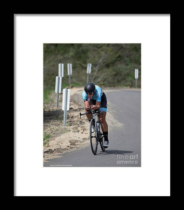 Tour Of Murrieta Framed Print featuring the photograph Time Trial 19 by Dusty Wynne