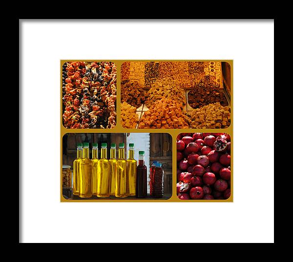 Turkey Framed Print featuring the photograph Turkish Delights by Jacqueline M Lewis