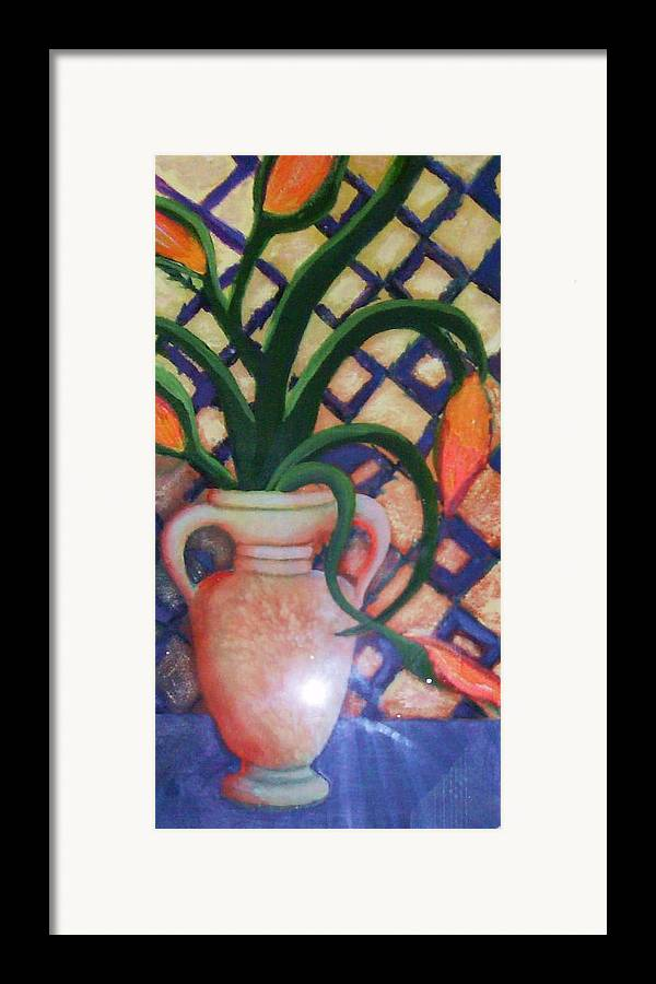 Tuscany Framed Print featuring the painting Tuscany Morning by Anne-Elizabeth Whiteway