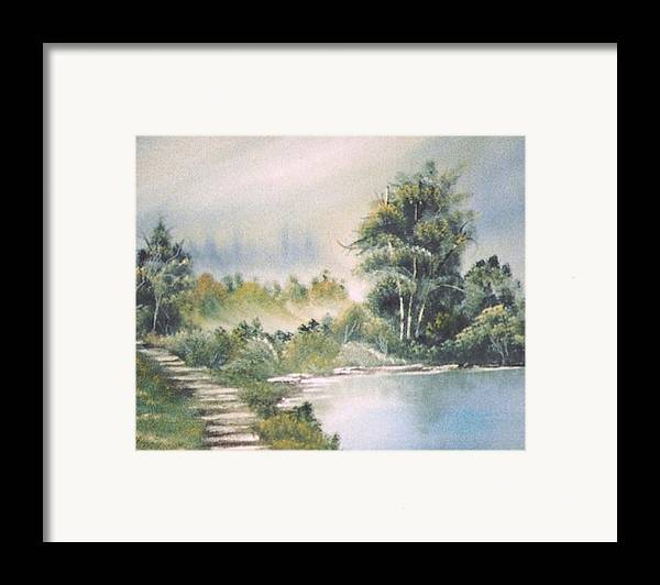Biblical Framed Print featuring the print Untitled by Beverly Baxter
