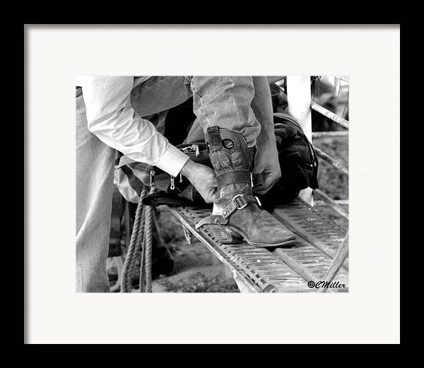 Rodeo Framed Print featuring the photograph Untitled by Carol Miller