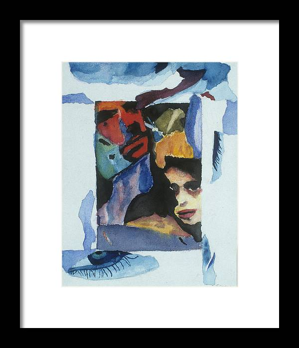 Watercolor Framed Print featuring the painting Untitled by Jamie Wooten