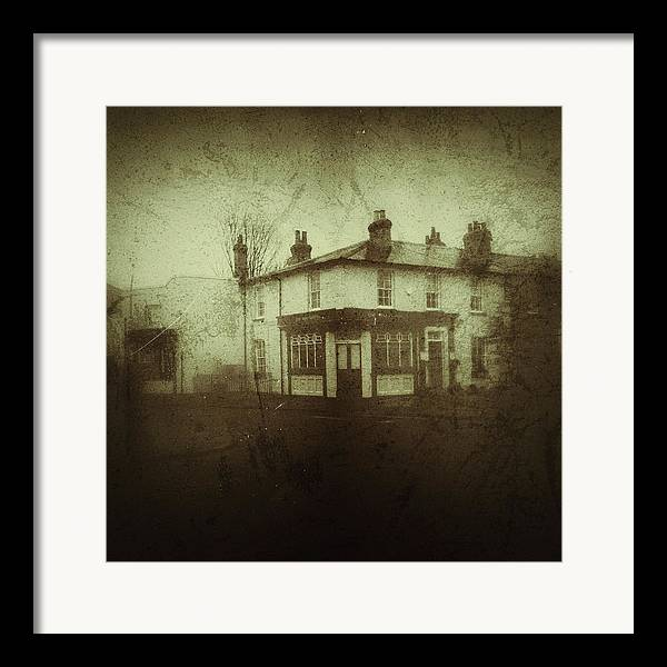 Old Framed Print featuring the photograph Vintage Public House by Fine Art By Andrew David