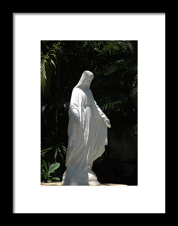 Florida Framed Print featuring the photograph Virgin Mary by Rob Hans
