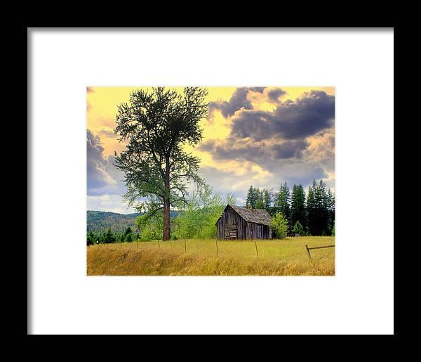 Washington Framed Print featuring the photograph Washington Homestead by Marty Koch