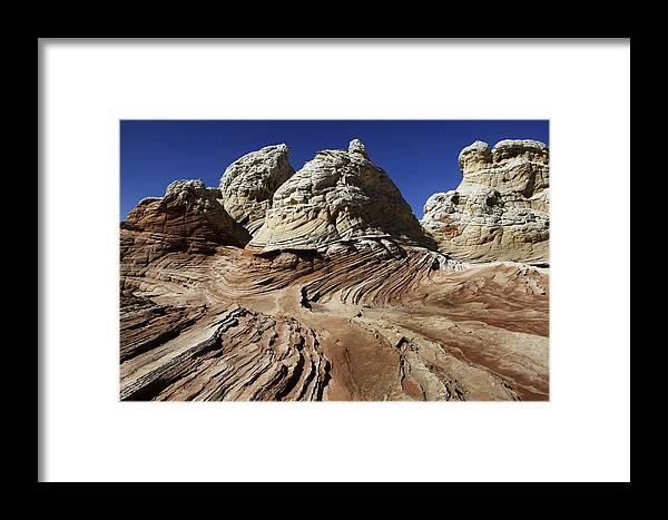 Arizona Framed Print featuring the photograph White Pockets 2358 by Bob Neiman