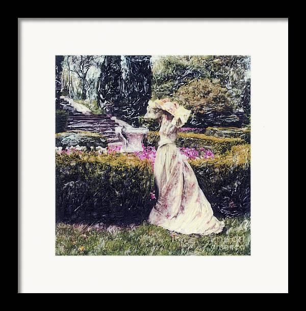 Garden Framed Print featuring the photograph Wind Through The Gardens by Steven Godfrey