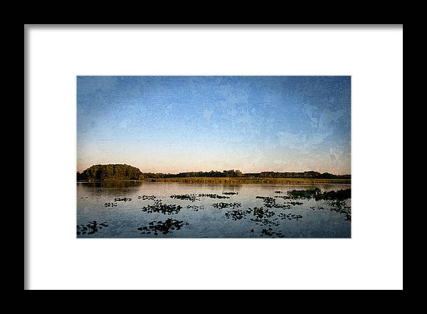 Wingfoot Lake Framed Print featuring the photograph Wingfoot Lake by Nikki Nisly