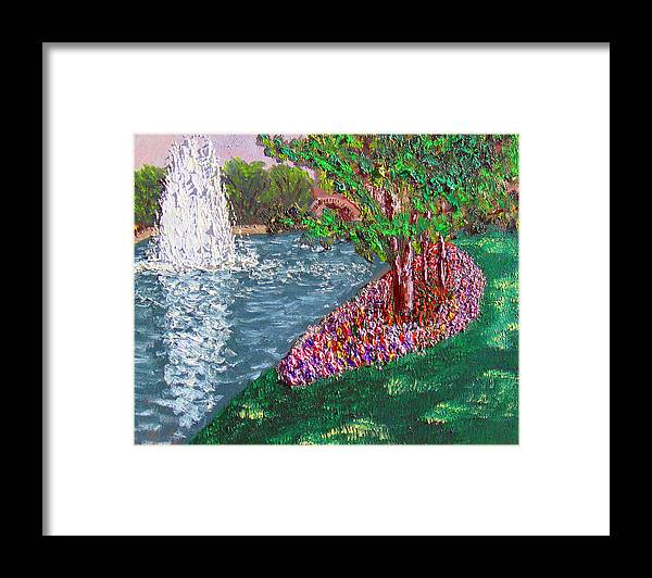 Plein Air Framed Print featuring the painting Wrsp 8 2 by Stan Hamilton