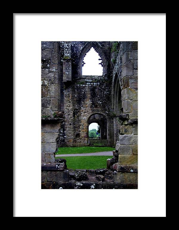 Addingham Framed Print featuring the photograph Your Choice by Jez C Self