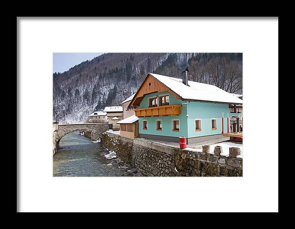 Alpine Framed Print featuring the photograph Zelezniki by Andre Goncalves
