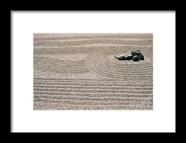 Zen Framed Print featuring the photograph Zen Garden by Dean Triolo