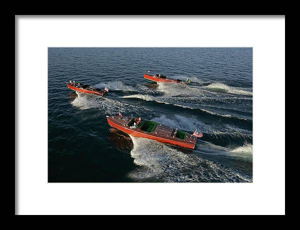 Boat Framed Print featuring the photograph Pure by Steven Lapkin