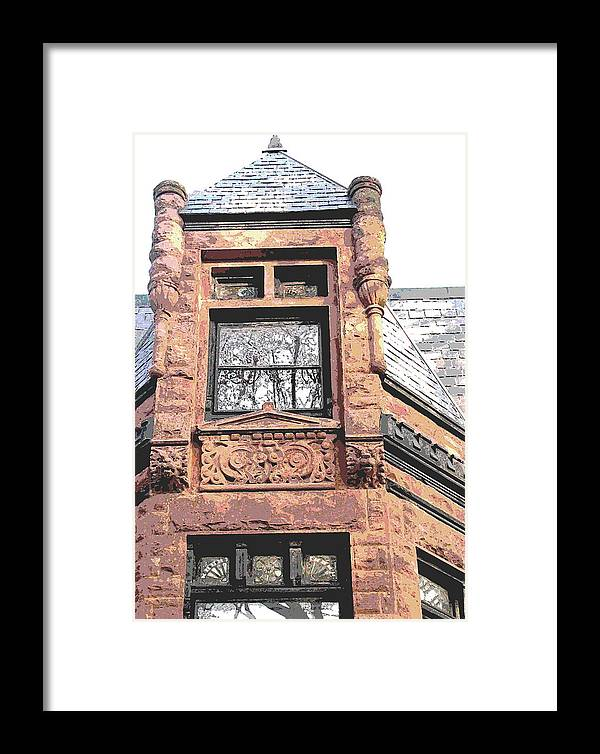 Framed Print featuring the photograph Window Series by Ginger Geftakys
