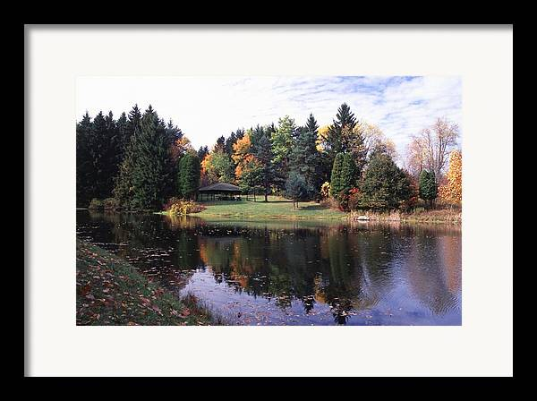 Autumn Colors Framed Print featuring the photograph 102201-23 by Mike Davis