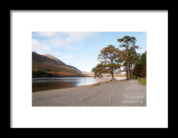 Buttermere Lake Framed Print featuring the photograph Buttermere by Smart Aviation