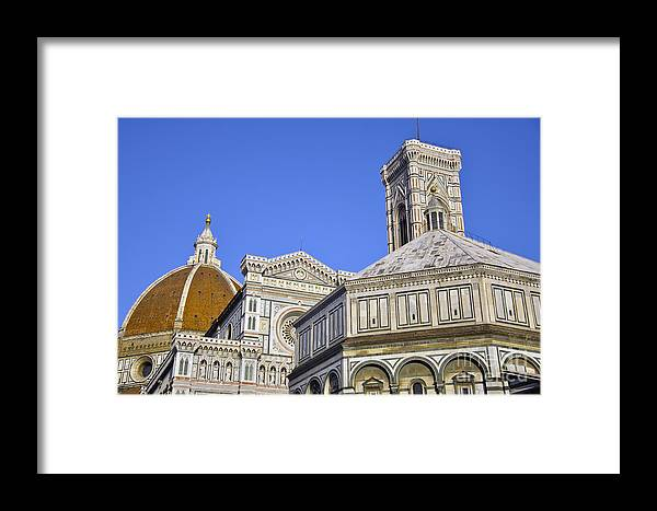 Florence Framed Print featuring the photograph Florence by LS Photography