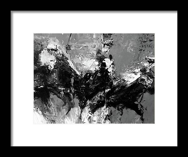 Framed Print featuring the painting 11 by Heather Roddy