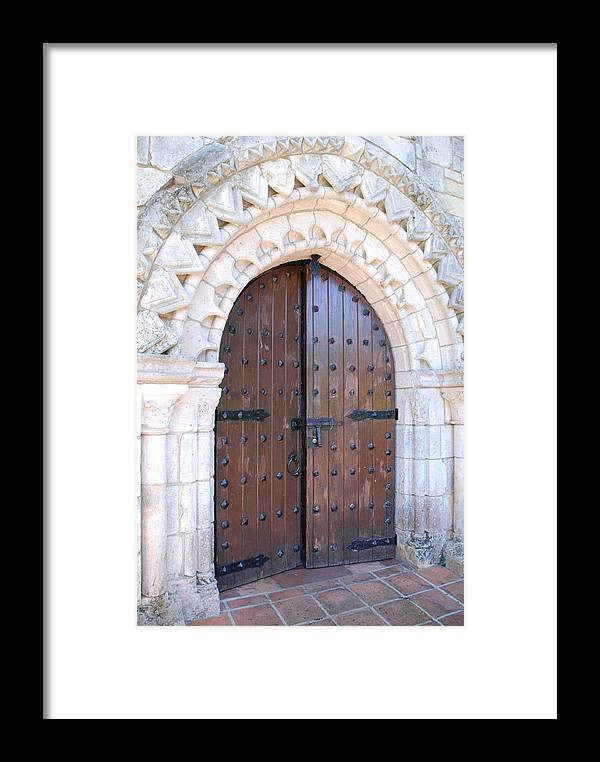 Architecture Framed Print featuring the photograph Miami Monastery by Rob Hans