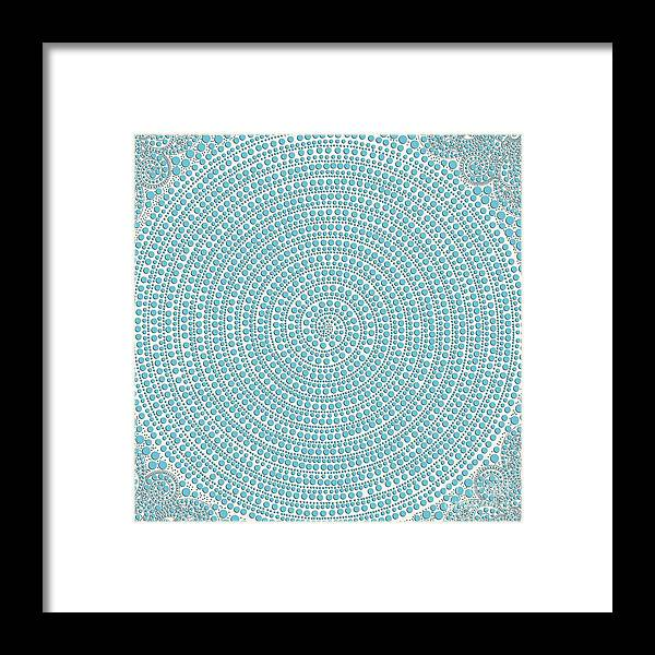 Spiral Framed Print featuring the photograph Msc by Caddelle Faulkner