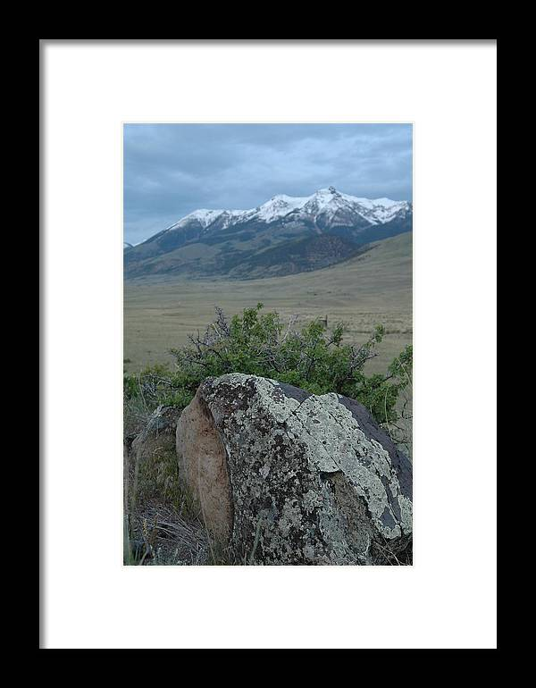 Landscape Framed Print featuring the photograph Untitled by Kathy Schumann
