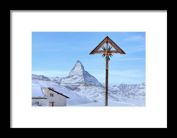 Riffelberg Framed Print featuring the photograph Zermatt - Switzerland by Joana Kruse