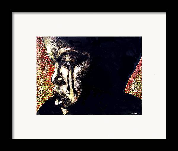 Framed Print featuring the mixed media 1140 by Chester Elmore