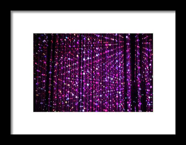 Abstract Framed Print featuring the photograph Abstract Lights by Jijo George