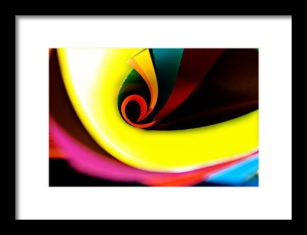 Colours Framed Print featuring the photograph Untitled by Vadim Grabbe
