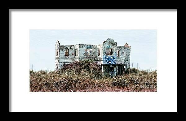 Landscape Framed Print featuring the photograph Msc by Caddelle Faulkner