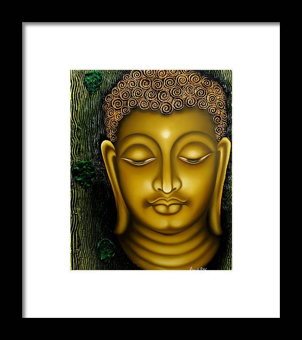 Lord Buddha Framed Print by Ramesh Patel