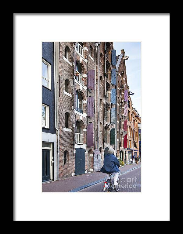 Age Framed Print featuring the photograph Streets Of Amsterdam by Andre Goncalves