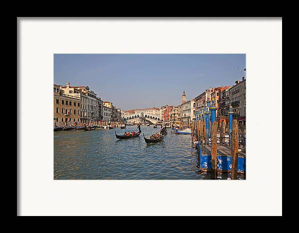 Architecture Framed Print featuring the photograph Venice - Italy by Joana Kruse