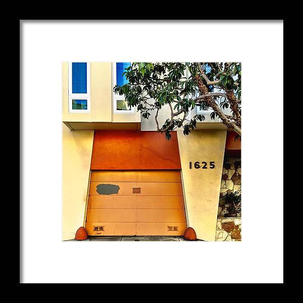 Garage Door Framed Print featuring the photograph 1625 by Julie Gebhardt